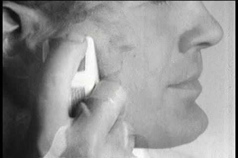 Norelco Speedshaver TV commercial Footage