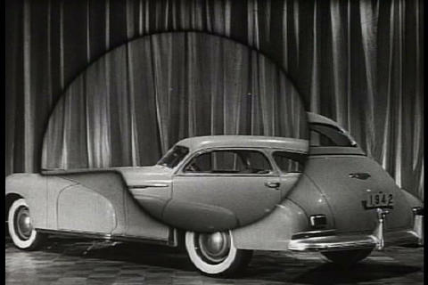 Oldsmobile advertisement for the 'Sixty' B-44 Live Action