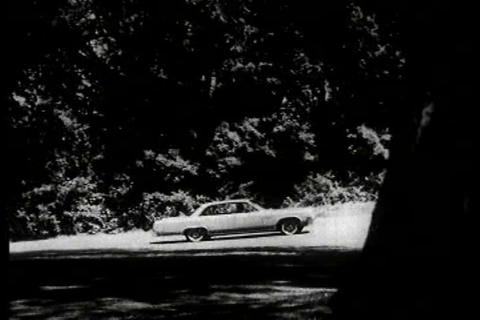 Oldsmobile TV commercial Footage