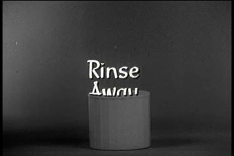 Rinse Away TV commercial Footage