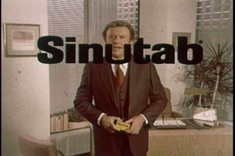 Sinutab TV commercial Footage