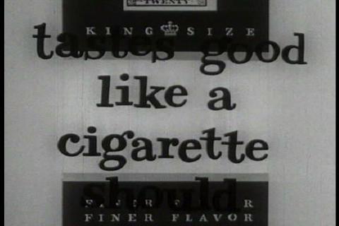 Winston Cigarette commercial ビデオ