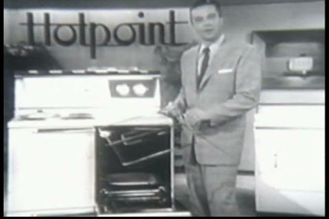 Hotpoint cooking range is introduced in the 1950s Live Action