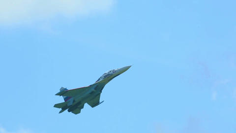 Sukhoi fighter Footage