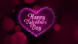 Valentines Day Heart stock footage