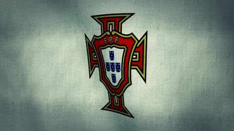 Portugal National Football Team Flag (Loopable) Animation