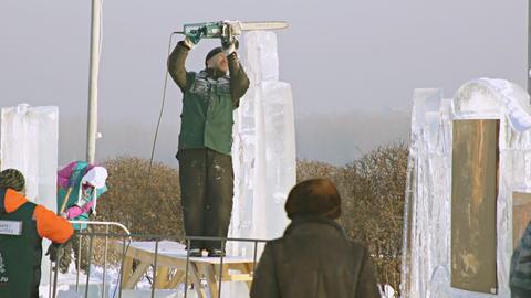 Krasnoyarsk Snow Festival 03 Footage