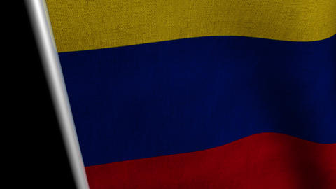 Columbia Flag transition LtoR with Alpha/Matte Animation