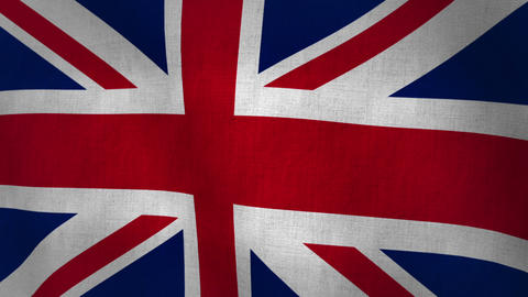 Union Jack Flag Animation