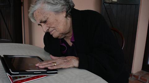 elderly woman Live Action