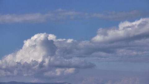 Cloudscape Timelapse stock footage