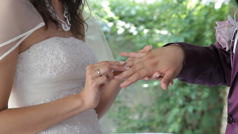 wedding ring Footage