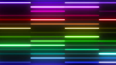 Neon tube W Ybm F S 4 HD Animation
