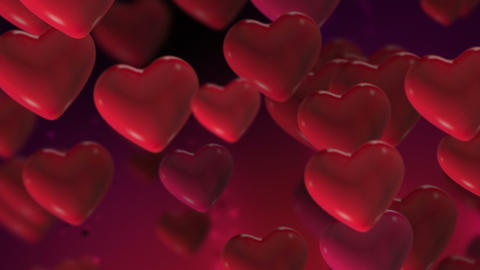 Valentines Heart Loop 2 stock footage