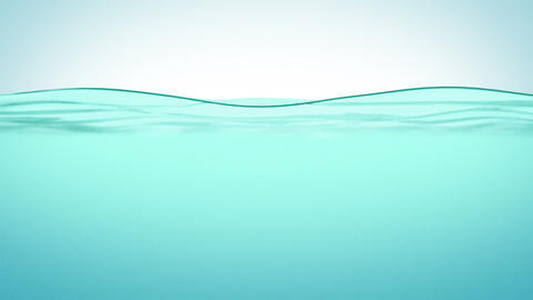 Beautiful Water surface in Slow motion. Looped ani Animation