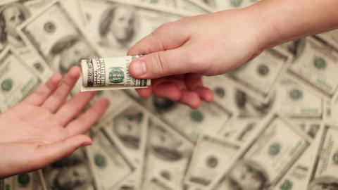 Give Bribe stock footage