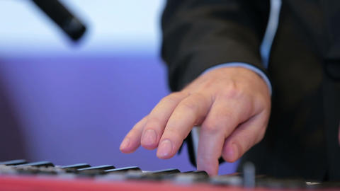 a musician playing a musical instrument Footage
