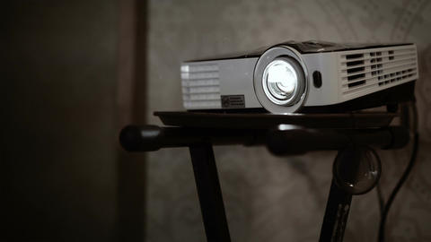 Multimedia Projector stock footage