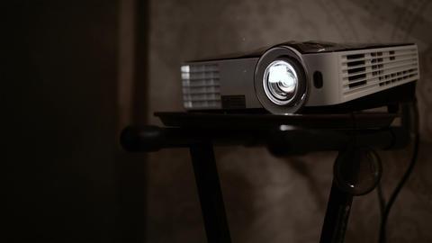 Multimedia projector Stock Video Footage