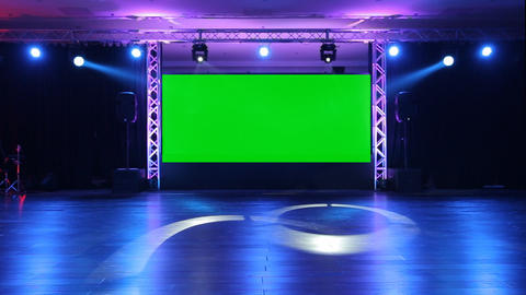 Stage Screen 04 stock footage