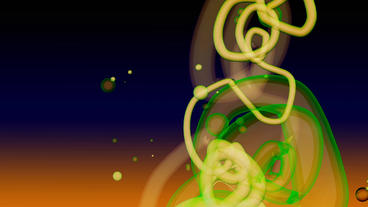 Abstract Painting lines flying in Virtual space,graffitiart art background Animation