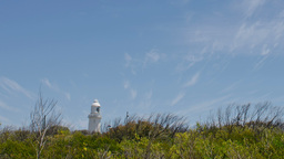 Cape Naturaliste lighthouse time lapse in Western  Footage