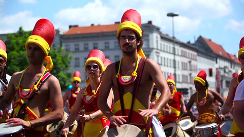 Carnival Of Cultures (Berlin 2012) stock footage