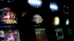 Slot machines videopoker glare Footage
