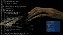 Source Code Hacker Footage