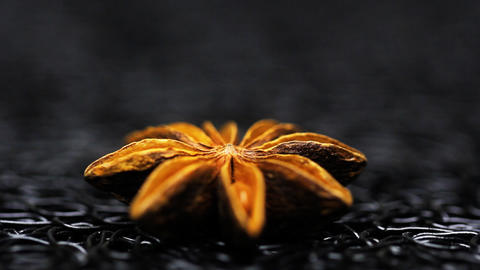 Star Anise spice food styleing Live Action