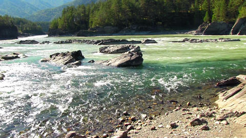 Mountain River Footage