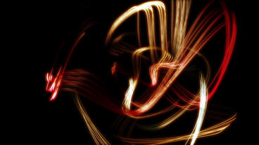 Color dynamic neon lights lines & Abstract Art such as fireworks sparks patt Animation