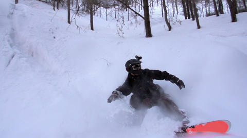 Extreme Snowboarding HD Footage