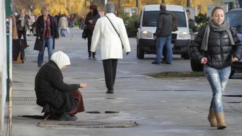 beggar Footage