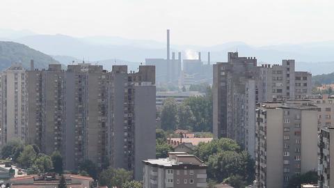 Tuzla fabrika 02 Footage