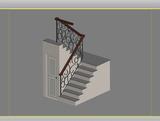 U-stair 3Dモデル