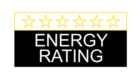 energy rating fast Stock Video Footage