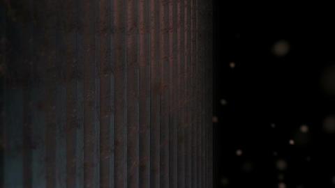 dusty metal array Animation