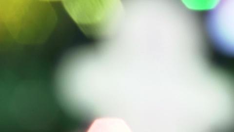 4K Blurred Lights Footage
