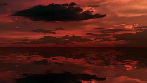 Sea at dusk Animation