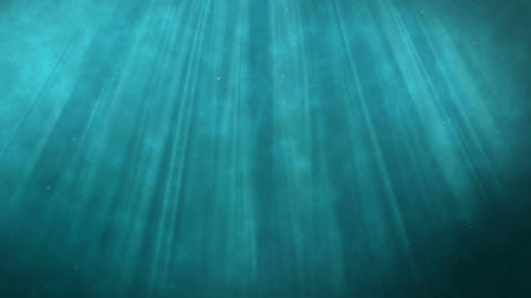 Underwater River stock footage