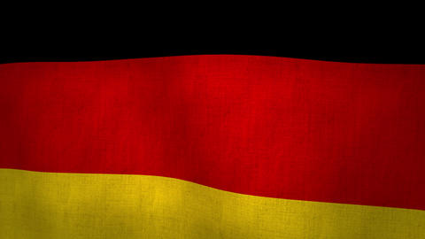 Germany Flag Background Textured (Loop-able) Animation
