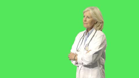 Senior doctor Footage