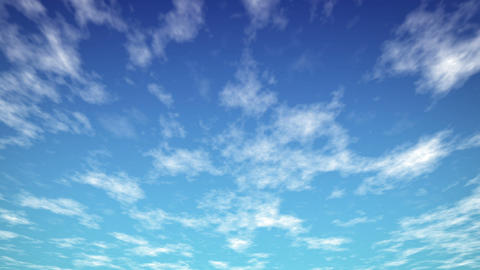Loopable Sky Blue HD stock footage