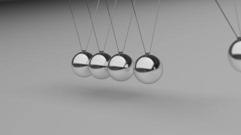 Newtons Cradle 02 Animation