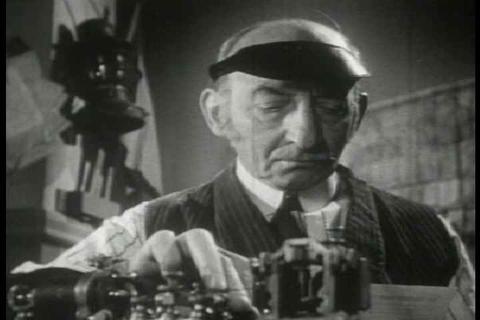 Archival film describing the impact of the telegra Live Action