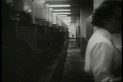Archival film how the Western Union telegraph serv Live Action