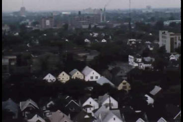 Silent unedited footage of aerials over the 1967 D Footage
