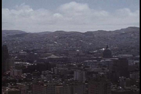 Home movie shots of San Francisco streets and land Live Action