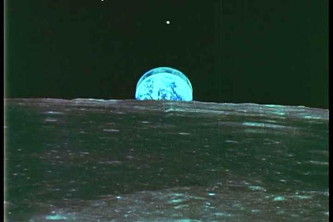 Earth from space photographs taken by Apollo 11 Footage